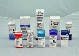 Medicamentos para curar enfermedades oculares.