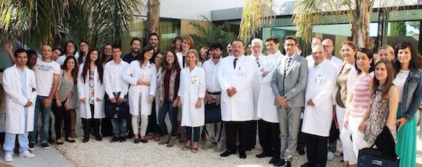 Hospital de Torrevieja - Bienvenida a los MIR y despedida de los nuevos especialistas - Unidad de Oftalmología